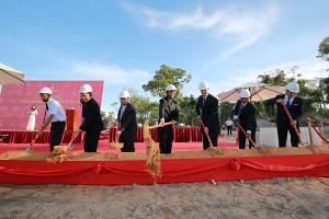 Dự án biệt thự biển Vinpearl Paradise Villas chính thức khởi công